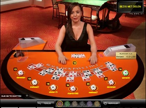 Oranje Live Casino Blackjack