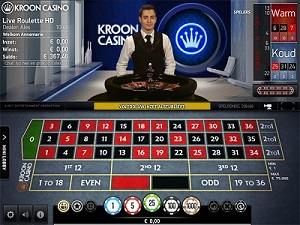 Kroon Live Casino Roulette