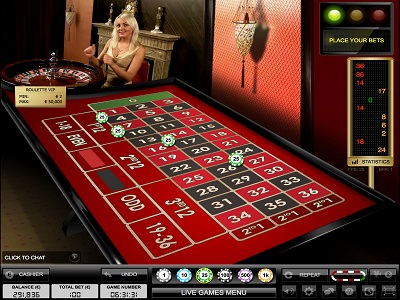 LuckLand Live Casino Roulette