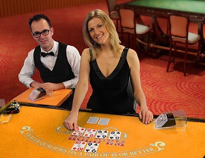 Mr Play Live Casino holdem