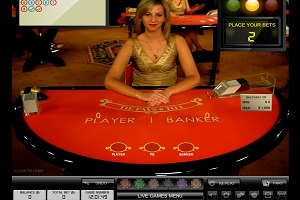 Kroon Live Casino Baccarat