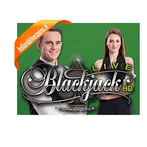 live common draw blackjack
